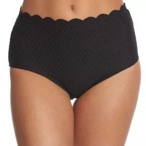 Kate Spade Bikini PICCOLA-BLACK- Scallop-Small